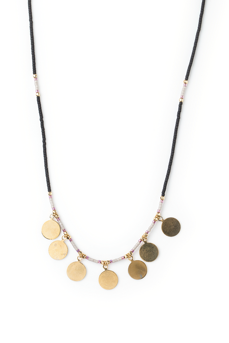 Neema Necklace - Black