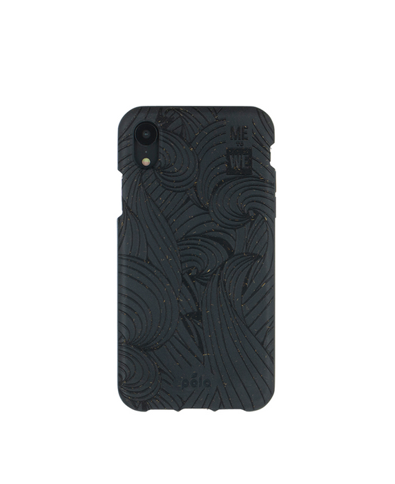 ME to WE x Pela Ripple Effect iPhone XS Case – Black