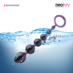 Neojoy Smooth Love 6-variable Funktionen Weiche TPR-Analkugeln 7,8 Zoll - 20 cm