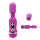 Neojoy - 18 Mini Magic Wand (Purple) V2/Massager