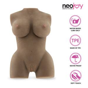 Neojoy - Mary Jane Liebespuppe - Braun - 7.5kg
