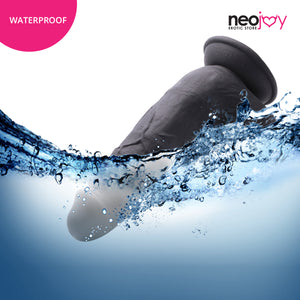 Neojoy King-Dong Dildo Flesh With Suction Cup - Black 8.4 inch - 21.33 cm 150268+154125