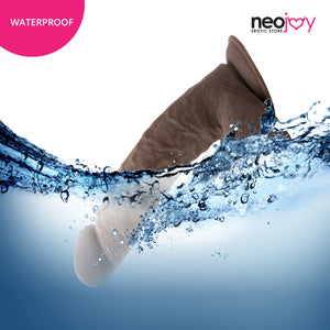 Neojoy Girthy Lover Realistic Dildo with Suction Cup TPE Brown 26.4 cm - 10.4 inch 151036+154125