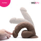 Neojoy Girthy Lover Realistic Dildo with Suction Cup TPE Brown 26.4 cm - 10.4 inch 151036+154127