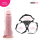 Neojoy Chubby Dong Dildo Flesh With suction cup 8.4 inch - 21.33 cm 150266+154127