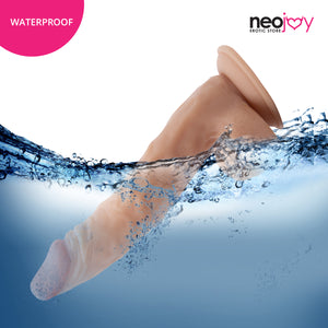Neojoy Dong Ultra Realistic Dildo with Suction Cup TPE Flesh 24.8 cm - 9.8 inch 151026+154127