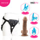 Neojoy Realistic Cock TPE with suction cup - light Brown 7 inch - 18cm 127942+154127
