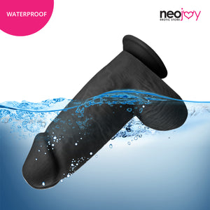 Neojoy - Bigger Bad Boy Dildo - Black 152935+154127