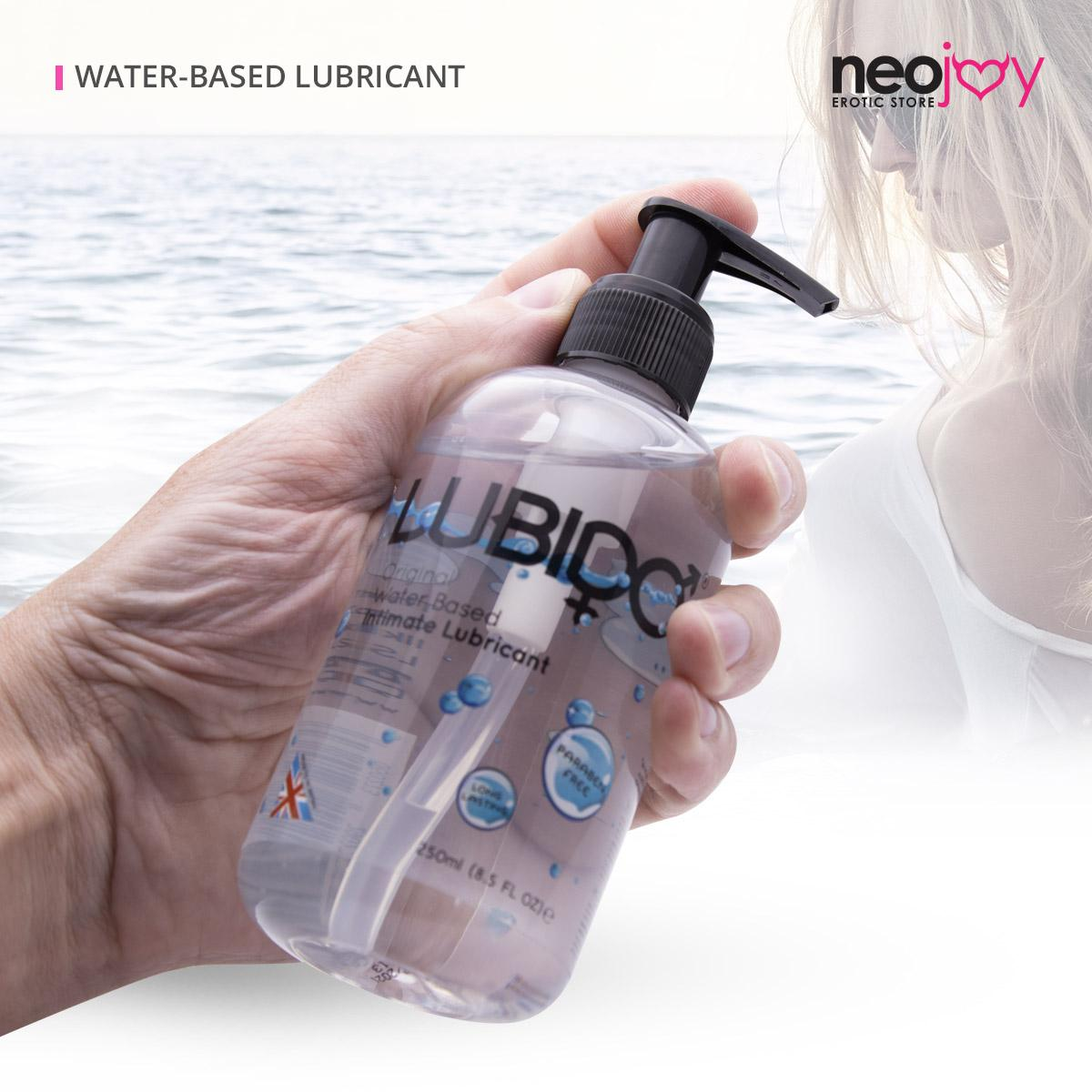 Original Lubido 250ml Original Lubido 100ml Tube Flasche