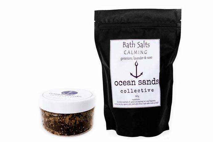 Bath Salt and Scrub Pack