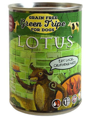 Lotus Grain-Free Green Tripe Canned Dog Food 12.5oz