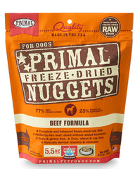 Primal Canine Freeze-Dried Beef Nuggets