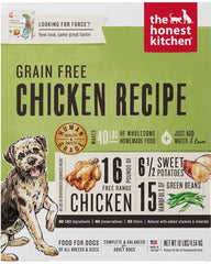 The Honest Kitchen Dehydrated Grain-Free Chicken Dog Food (Force)