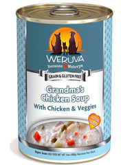 Weruva Grandma's Chicken Soup Canned Dog Food 14oz