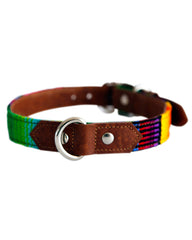 Feroz Maya Artisan Leather Dog Collar