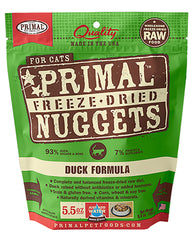 Primal Feline Freeze-Dried Duck Nuggets