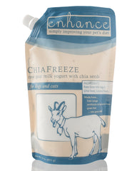 Steve's Real Food Frozen Enhance ChiaFreeze Goat Milk 16oz