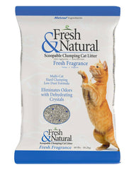 Fresh & Natural Clumping Litter Fresh Fragrance