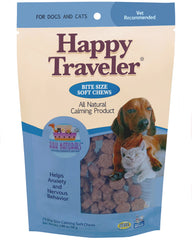 Ark Naturals Happy Traveler Bite Size Chews for Dogs and Cats