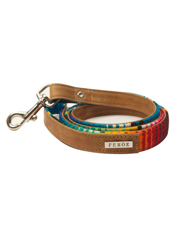 Feroz Maya Artisan Leather Dog Leash