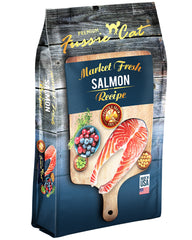Fussie Cat Market Fresh Salmon Dry Cat Food