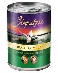 Zignature Duck Canned Dog Food 13oz