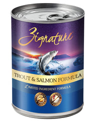 Zignature Trout & Salmon Canned Dog Food 13oz