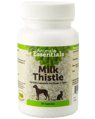 Animal Essentials Milk Thistle Supplement for Dogs and Cats