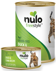 Nulo Freestyle Duck & Tuna Grain-Free Paté Canned Cat Food