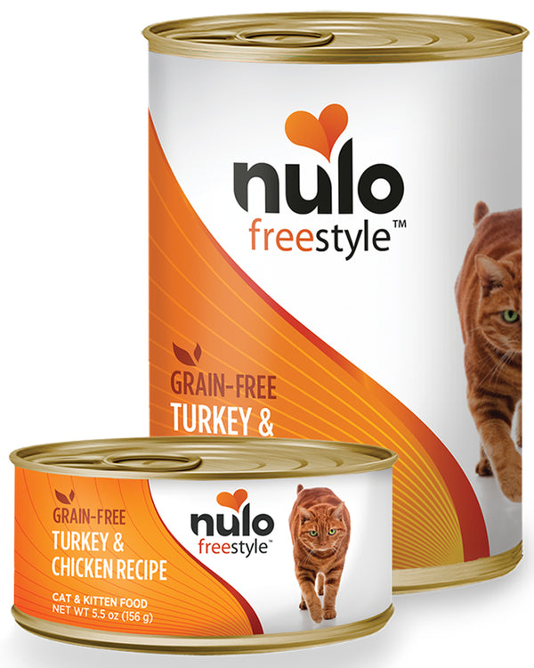 Nulo Freestyle Turkey & Chicken Grain-Free Paté Canned Cat Food