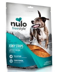 Nulo Freestyle Grain-Free Salmon & Strawberry Jerky Dog Treats