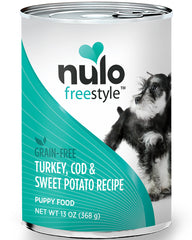 Nulo Puppy Turkey, Cod & Sweet Potato 13oz Grain-Free Paté Canned Dog Food