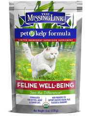 The Missing Link Pet Kelp Well Being Superfood Supplement for Cats 8oz