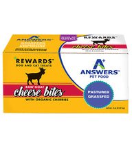 Answers Pet Food Raw Goat Cheese with Organic Cherries 8oz