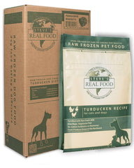 Steve's Real Food Raw/Frozen Turducken Dog & Cat Food