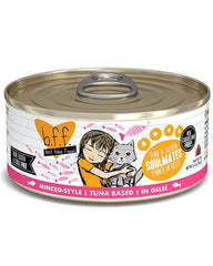 Weruva B.F.F. Tuna & Salmon Soulmates Canned Cat Food