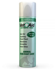 Vet Aid Enzymatic Animal Skin & Coat Foam 4 FL OZ