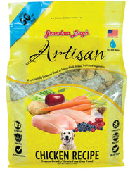 Grandma Lucy's Artisan Chicken Freeze Dried Dog Food 3lb