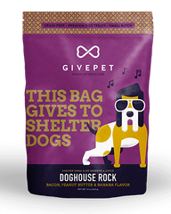 GivePet Dog House Rock Dog Treats 12oz