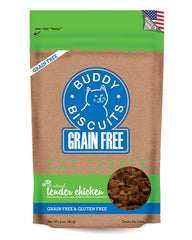 Buddy Biscuits Grain Free Cat Treats Chicken