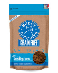 Buddy Biscuits Grain Free Cat Treats Tuna