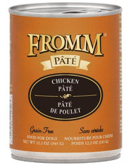 Fromm Chicken Pate Canned Dog Food 12 oz