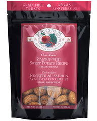 Fromm Grain-Free Salmon & Sweet Potato Dog Treats 8 oz