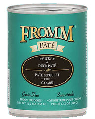 Fromm Chicken & Duck Pate Canned Dog Food 12oz
