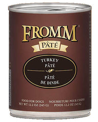 Fromm Turkey Pate Canned Dog Food 12oz