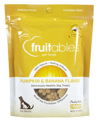 Fruitables Dog Treats Pumpkin & Banana 7oz