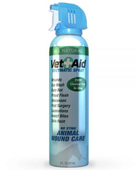 Vet Aid Enzymatic No Sting Animal Wound Care Spray