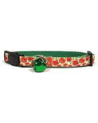 Midlee Designs Poppy Breakaway Cat Collar
