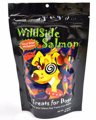 Wildside Salmon Freeze Dried Dog Treats 4oz