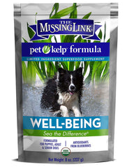 The Missing Link Pet Kelp Well Being Superfood Supplement for Dogs 8oz